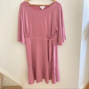 Blush Pink Spring Dress | Large